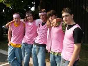 Boys in Pink against Bullies